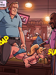 I was at my favorite bar - Spy games 3 by jab comix