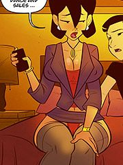 All that incest talk got me so hot - My mom the book tour star by jabcomix (incest comics)